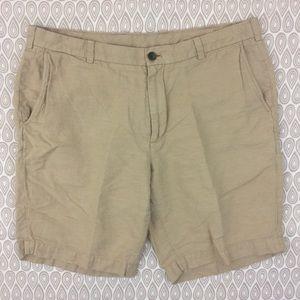 Brooks Brothers 346 Men's Tan Shorts Size 38 G71